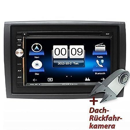 """ICARTECH - Autoradio Navigation Haute Vitesse, Ecran 7"""" Pour Citroen Jumper, Fiat Ducato, Peugeot Boxer"""