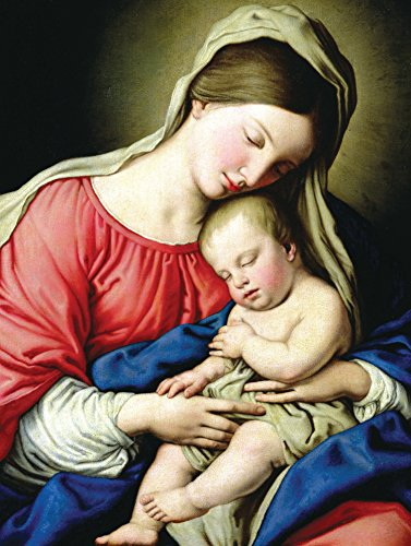 Virgin and Child Boxed Holiday Full Notecards (Christmas Cards)