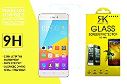 Gionee F103 Pro Tempered Glass, 9H Hardness Ultra Clear, Anti-Scratch, Bubble Free, Anti-Fingerprints & Oil Stains Coating (Note: Covers only the front display and not the curved sides)