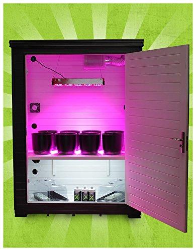 Hydroponic Grow Box - Grow Daddy With Led Grow Light