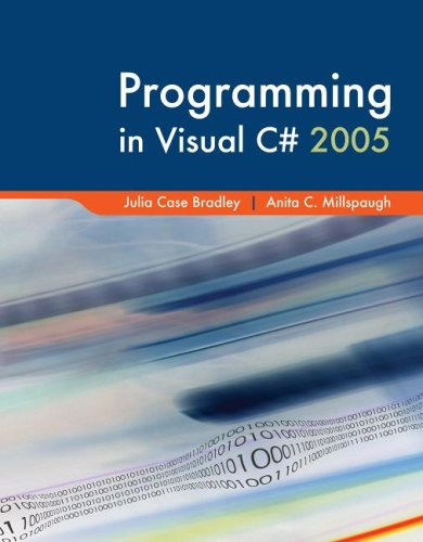 Programming in Visual C# with Visual Studio Professional Edition Software (Programming In Julia compare prices)
