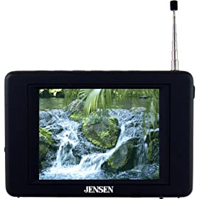"Jensen JDTV-350 3.5"" TFT Color LCD Television with Built-In ATSC"