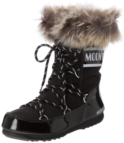 Moon Boot W.E. Monaco Low Scarpe sportive outdoor, Donna, Nero, 38