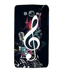 Music Special 3D Hard Polycarbonate Designer Back Case Cover for Samsung Galaxy J7 (2015) :: Samsung Galaxy J7 J700F (Old Version)