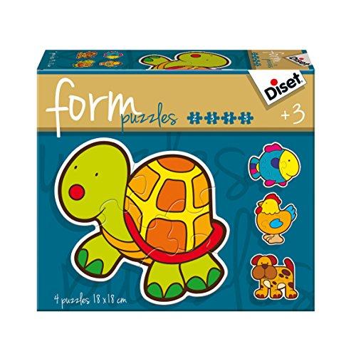 Diset - 69953 - Puzzle - Form Animaux