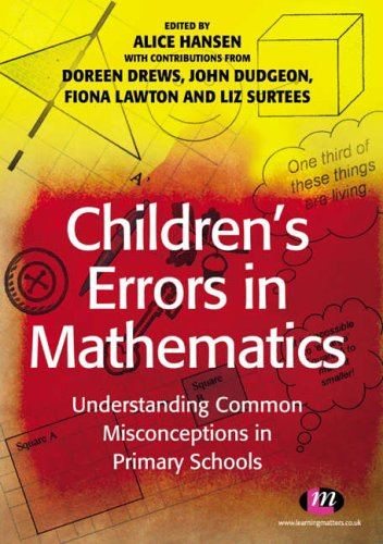 Money: Children's Errors in Mathematics: Understanding Common ...