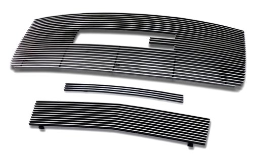 2007-2010 GMC Sierra 2500/3500 HD Billet Grille Grill Combo Insert (2500 Hd Grill Inserts compare prices)