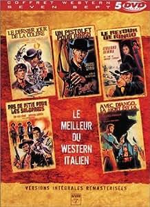 Le Meilleur du Western italien - Coffret 5 DVD : Le Dernier jour de la colère / Un pistolet pour Ringo / Le Retour de Ringo / Pas de pitié pour les salopards / Avec Django, la mort est là
