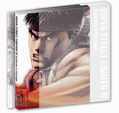 スーパーストリートファイターIV コレクターズ・パッケージ(サントラCD&映像DVD&ブックレット同梱)