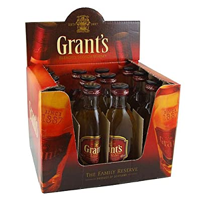 William Grant's Family Reserve 5cl Miniature Blended Whisky - 12 Pack from Willam Grants