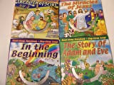 img - for Bible Story books: In The Beginning/The Story of Adam & Eve/The Birth of Jesus/The Miracles of Jesus. (Read-Along Storybook, Sing-Along Songs, PC Fun) book / textbook / text book
