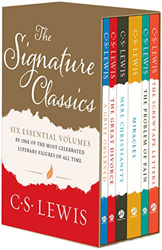C. S. Lewis Signature Classics: Mere Christianity, The Screwtape Letters, A Grief Observed, The Problem of Pain, Miracles, and The Great Divorce (Boxed Set)