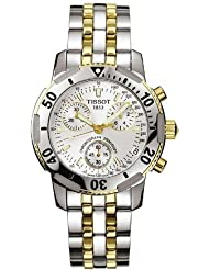 Tissot Men's T17248633 PRS200 Two-Tone Chronograph Watch