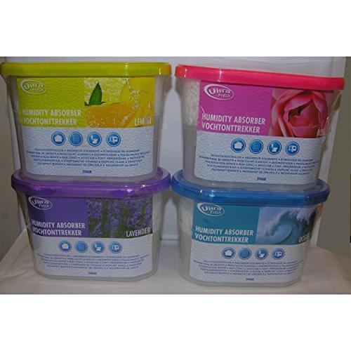 Luftentfeuchter Ultra Fresh Duft Granulat Raumentfeuchter Entfeuchter Düfte Auswahl Zitrone