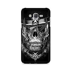 Mobicture Skull Art Premium Printed Case For Samsung J1 Ace