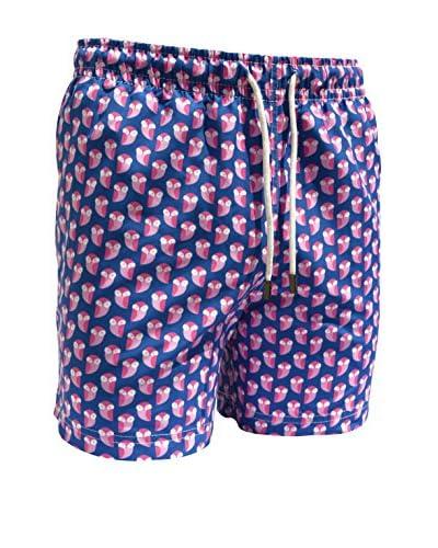 98 Coast Av. Men's Pink Owls Shorts
