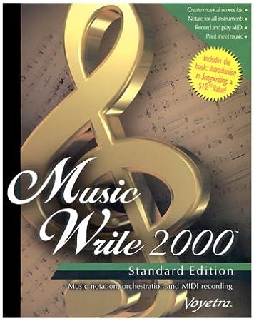 Music Write 2000 Standard Edition