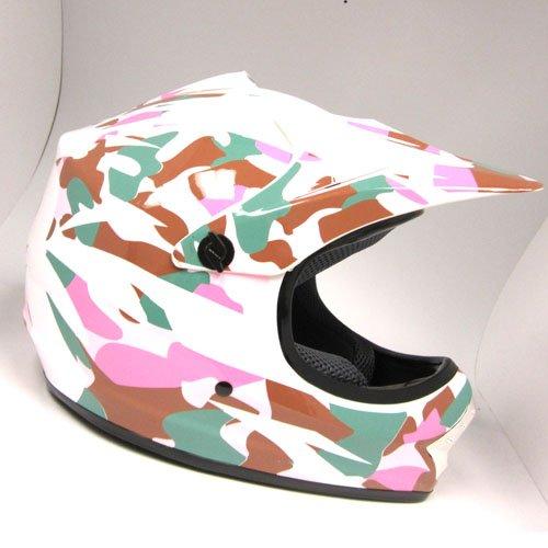 WOW-Motocross-BMX-Youth-ATV-Dirt-Bike-Pink-Camo-MX-Helmet
