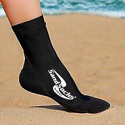 Generic Sand Socks Classic High Top Neoprene Athletic Socks