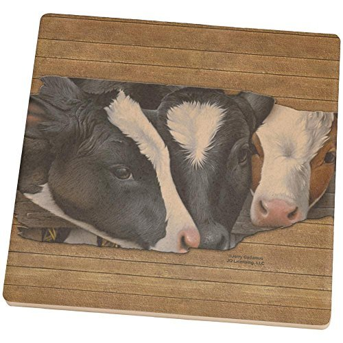 queens-of-the-dairy-farm-cows-square-sandstone-coaster-multi-standard-one-size-by-animal-world