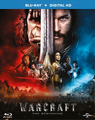 Warcraft: The Beginning (Blu-ray + Digital Download) [2016]