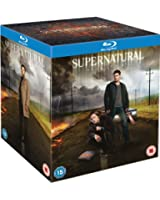 Supernatural - Season 1-8 Complete [Blu-ray] [Region Free]