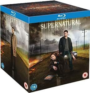 Supernatural: Season 1-8 [Blu-ray]
