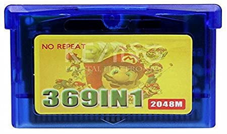 2016 HOT! Game cartridge: 2048m Game cart Overseas exports in English for pocket Contra Double Dragon 369 in1 no repeat