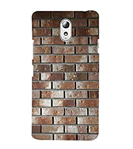 99Sublimation Wall Pattern 3D Hard Polycarbonate Back Case Cover for Lenovo Vibe P1m