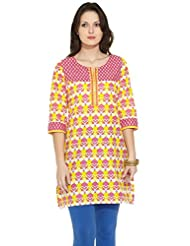 KARIGARI Ladies Cotton Printed KURTA - B00OBGYYCO