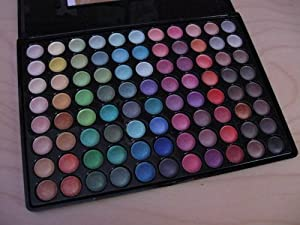 SHANY Shimmer Eyeshadow Palette, 50/50 Shimmer Matte, 13 Ounce
