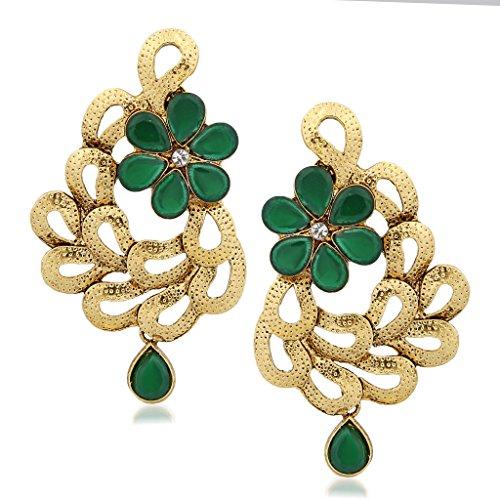 V-K-Jewels-Gold-Enticing-Leafy-Plated-Alloy-Drop-Earring-Set-For-Women-Girls-Erz1307G-Vkerz1307G