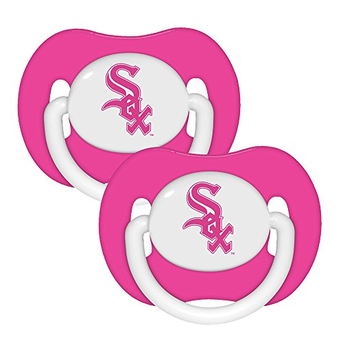 Baby Fanatic Pacifier, Chicago White Sox, 2-Count