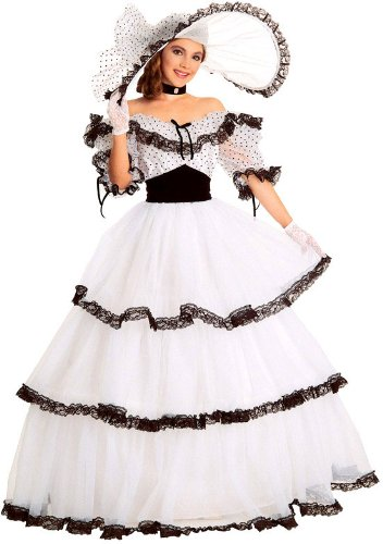 Super Deluxe Southern Belle Costume