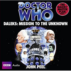 Amazon.com: Doctor Who: Daleks - Mission to the Unknown: The ...