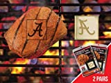 FANMATS NCAA University of Alabama Crimson Tide Metal-Alloy 2-Pack FanBrands at Amazon.com