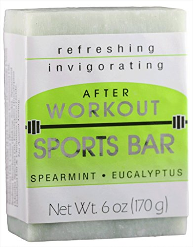 Remwood Prod. Co. 67501 After Workout Sports Bar Spearmint/Eucalyptus