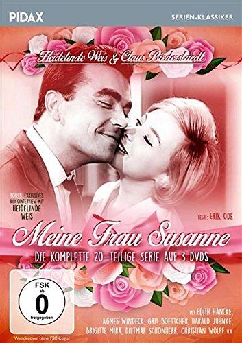 Meine Frau Susanne / Die komplette 20-teilige Kultserie mit Heidelinde Weis und Claus Biederstaedt (Pidax Serien-Klassiker) [3 DVDs]