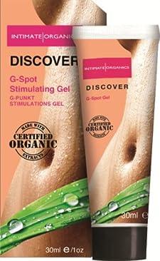 Intimate Organics G-Spot Gel Discover 1 Oz.
