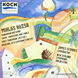Rozsa: Theme Variations & Finale / Hungarian Nocturne / Overture to a Symphony Concert, op. 26