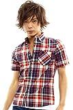 インプローブス(improves) 半袖レギュラーチェックシャツ