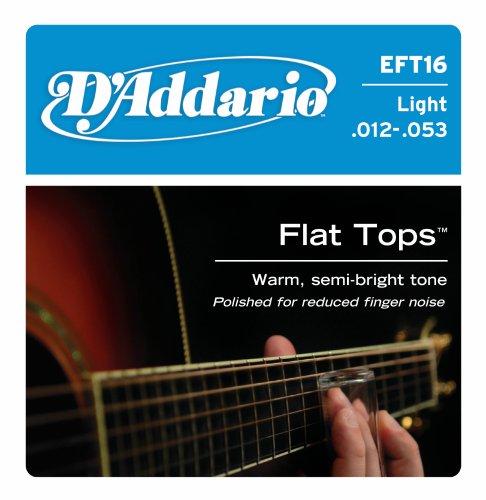D'Addario EFT16 Flat Tops Phosphor Bronze Acoustic