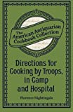 img - for Directions for Cooking by Troops, in Camp and Hospital book / textbook / text book