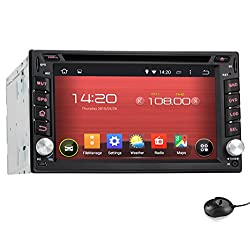 See Pumpkin 6.2 inch Android 4.4 KitKat Double Din In Dash Capacitive HD Multi-touch Screen Car DVD Player GPS Navigation Stereo AM/FM Radio Support Bluetooth/SD/USB/ipod/AV-IN/OBD2/3G/Wifi/DVR With Backup Camera As Gift (KD-C0223+Y0801) Details