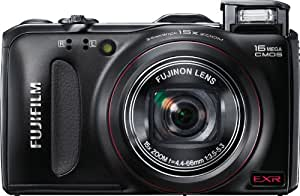 Fujifilm FinePix F550EXR 16 MP CMOS Digital Camera with Fujinon 15x Super Wide Angle Zoom Lens and GPS Geo-Tagging Function
