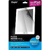 iPad Retinaディスプレイモデル/iPad2用 液晶保護フィルム 指紋防止 光沢 SIP-FS01