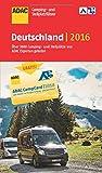 ADAC Camping- und Stellplatzführer 2016 Deutschland