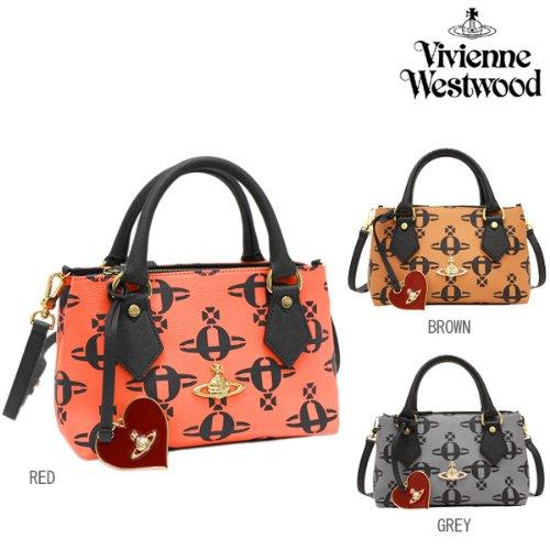(ヴィヴィアンウエストウッド) Vivienne Westwood バッグ 13398 LOGOMANIA SM HANDBAG ハンドバッグ 選べるカラー[並行輸入品]