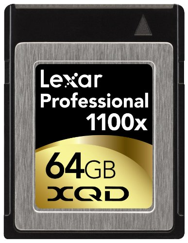 Best Buy! Lexar Professional 1100x 64GB XQD Card (LXQD64GCTBNA1100)