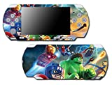 Avengers Captain America Thor Hulk Iron Man Toy Video Game Vinyl Decal Skin Sticker Cover for Sony PSP Playstation Portable Slim 3000 Series System